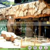 Theme Park Manmade Stylish Rock for Wall Decoration