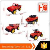 China popular product pull back toy model diecast fire trucks for sale