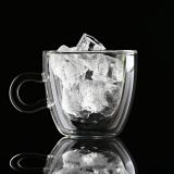 Clear drinkware glass cups 150ML  juice cups coffee cups miulk cups Customized glass cup