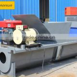 Trapezoid shaped gutter/channel Concrete paving mold making Machine/widely used concrete block making machine for sale in usa