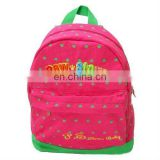 School bag for kids promotional school backpack
