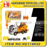 Wholesale 4ch rc construction trucks model tower crane toy for kids