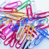 Plastic-coated paper clips