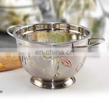 kitchen accessory stainless steel colander