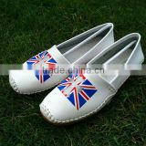 in factory supply fashion women's shoes non slip flat shoes england london wind sexy ladies shoes wholesale OEM processing