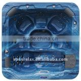 pop-up TV spa tub combin with air and water massage