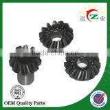 Professional manufacture ATV, UTV and motorcycle spiral and bevel gear