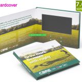 Customized hardcover 7'' video brochure