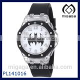 Batman Flashing Dial <b>Black</b> plastic <b>Strap</b> <b>Watch</b>