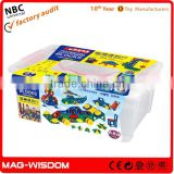 2016 Mag-Wisdom Magic Potential Development Building Blocks Intelligent Toys 688pcs Set