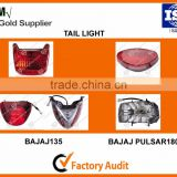 Chinese Best Supplier Motorcycle Led Tail Lights for Bajaj