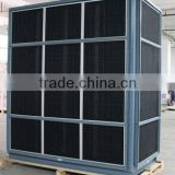 air exchanger with aluminum vent heat recovery ventilation system