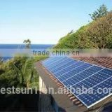 High efficiency 2000w Top Sale long warrantly solar powered garden fountain solar and wind power system