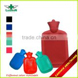 wholesale best quality colorful rubber hot water bag