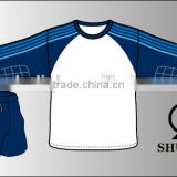 Customized design soccer uniforms set/polyester spandex football uniforms/wholesale high quality tracksuit men