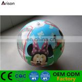 Full color cartoon printing inflatable beach ball inflatable water ball