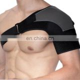 FDA Approved Adjustable Single Shoulder Brace Elastic Gym Sports Support Strap Wrap,orthopedic braces#HJ0001