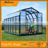 Agriculture Greenhouse Commercial Greenhouses Hobby Greenhouses uv coated polycarbonate panels