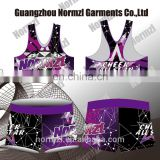 Fitness comfortable custom childs dance wear china