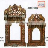 WHOLESALE INDIAN WOODEN CARVING JHAROKHA MANUFACTURER