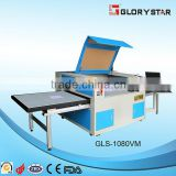 1000mmx800mm Fine and Precise Positioning Woven Labels Movable Exchanging working table laser cutting machine