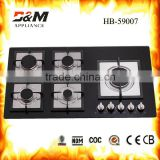 5 fires gas cooker hob and hood ,electric oven                                                                         Quality Choice