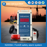 Forklift speeding alarm, security alarm for forklift