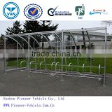 2014 best sold outdoor bicycle rack shelter/bicycle rack carport/ bicycle rack carport(ISO,TUV,SGS approved)
