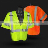 wholesale 2016 high qulity reflective jacket with HI-VI tape