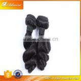 Very Sassy 100% Virgin Cheap Real Brazilian Loose Wave Human Hair Extensions on Sale