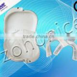 Elastic silicon gel whitening mouth trays
