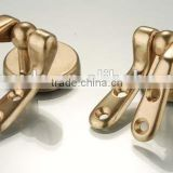 Brass Toilet Seat Hinge, With Screw Fitting Parts, Brass Color