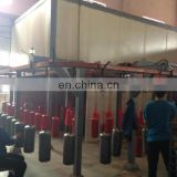 SAITU company fire extinguisher cylinder automatic powder painting machine