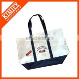 Fold up cheap shopping hanging file tite bag