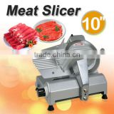 "Commercial 10"" Blade Deli Meat Slicer 240w 530RPM Food Cheese Electric Cutter"