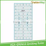 Durable Acrylic printable angle Quilting Ruler and drawing ruler