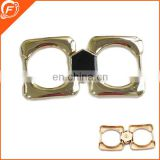 gold color nickle free high quality metal buckle for garment
