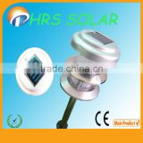 CE, ROHS, Alminum Garden Light New Design, integrated solar garden lights