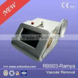 RBS03 CE approved 980nm diode laser for spider veins removal blood vessels removal machine