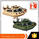 China toy 1:64 die cast slide steamboat model military toys play set with low price
