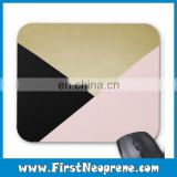 Combine Color Triangular Personalize Printing Mouse Pad