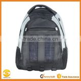 Ivation 3W Solar Backpack with 2200 mAh Waterproof Power bank/ Battery Pack, Phone/Mobile Charger