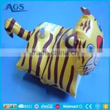 Kid series toy custom cheap inflatable tiger