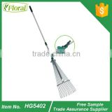 telescopic <b>garden</b> <b>leaf</b> <b>rake</b>