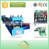 Two waves High accuracy hollow guide rail production line highway guardrail steel production board roll forming machine
