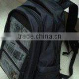 solar charging backpack/solar energy bag/solar backpacks(OEM/ODM)--KA-SBP041