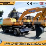 CBL-80 hitachi excavator wheel excavator for sale