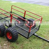 China Steel Mesh ATV Utility Trailer For Sale - 1250-Lb. Capacity