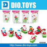 Wholesale cheap 4 style mix christmas wind up toys in opp packing