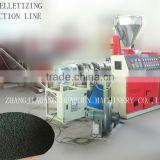 PVC Pelletizing Production Line/PVC recycling machine
